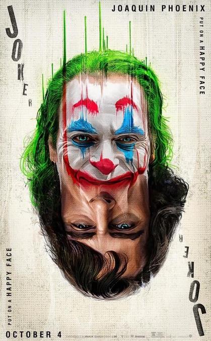 映画ジョーカーのポスター