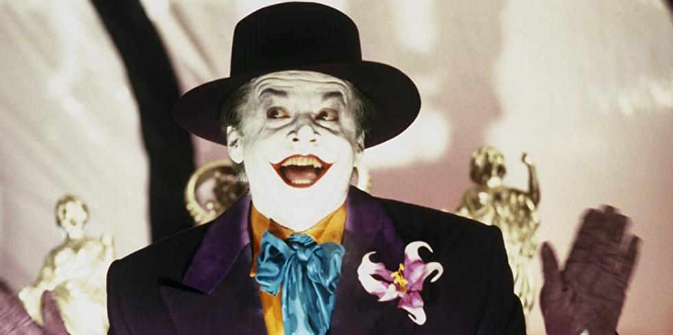映画バットマンのジャック・ニコルソンジョーカー