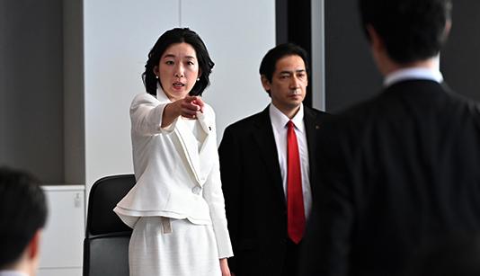 白井亜希子大臣(半沢直樹2第7話)