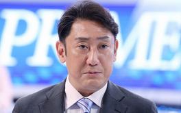 ニュースキャスターの浜崎哲平(はまさきてっぺい/中村芝翫)
