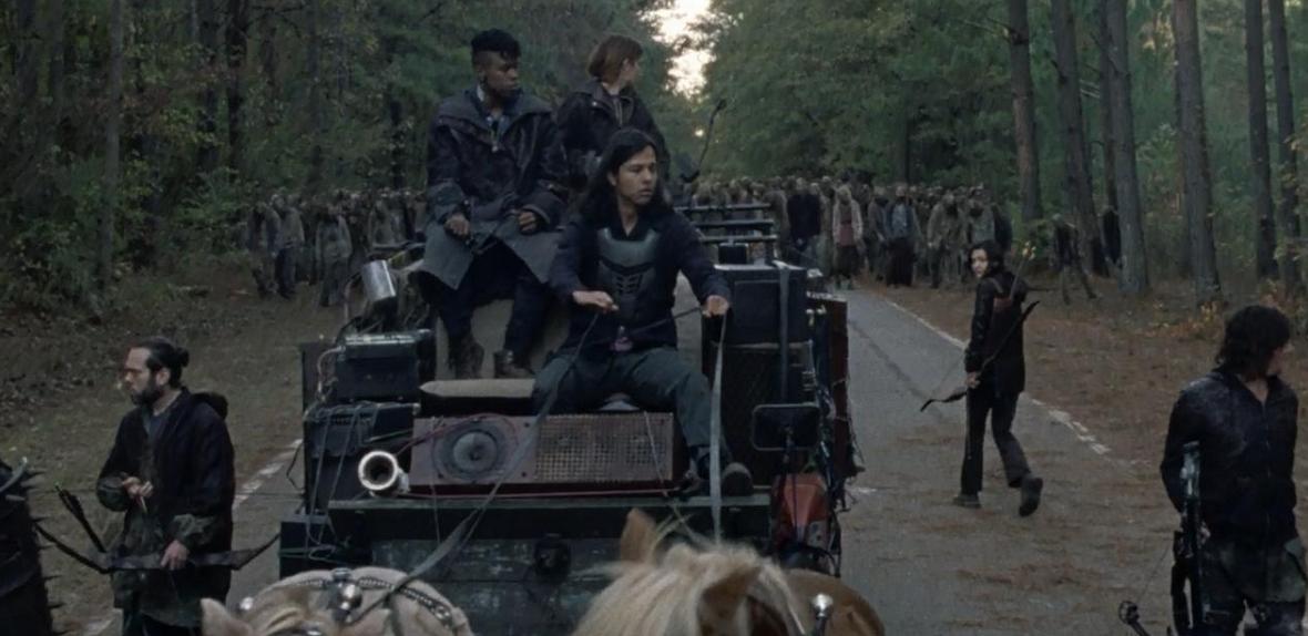 馬車に乗るケリーたち