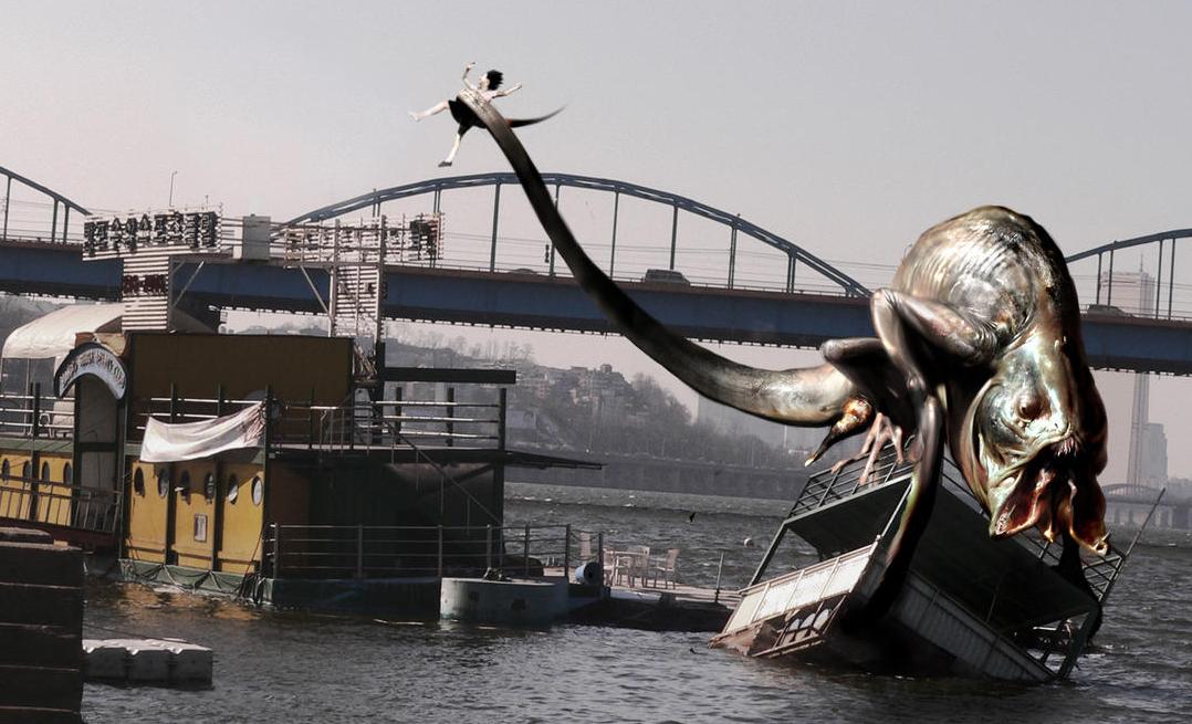 セウォル号沈没を暗示するシーン