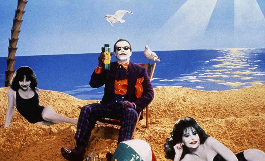 ジョーカーが毒入り化粧品「スマイレックス」を売るCM