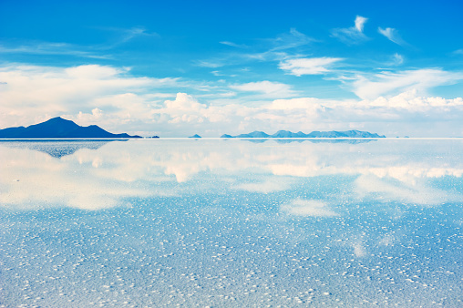 炭治郎の無意識領域のモデル ウユニ塩湖の風景