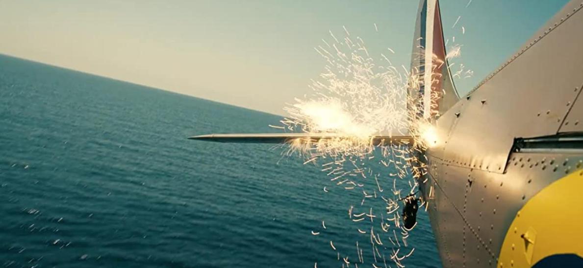 映画ダンケルクの戦闘機
