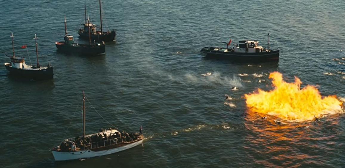 ダンケルクの軍船