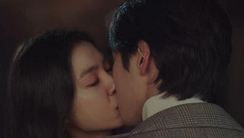 ク・スンジュンとダンのキス