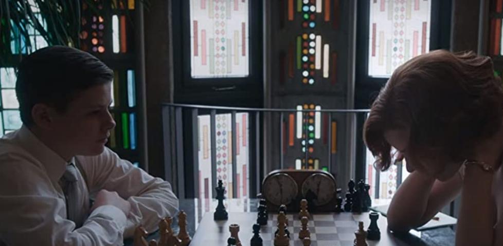 4話『ミドルゲーム』ベスとジョルジ・ギレフ