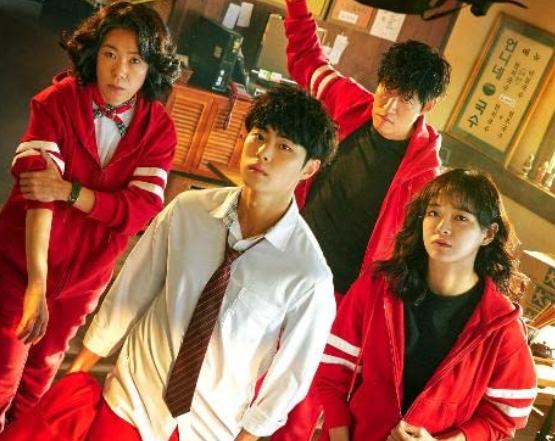 Netflixドラマ 悪霊狩猟団:カウンターズ