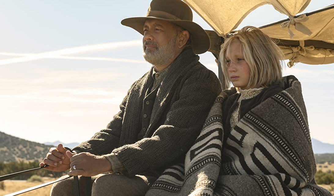 『この茫漠たる荒野で』のキッド大尉とジョハンナ