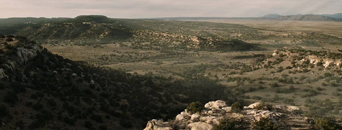 テキサスの広大な風景