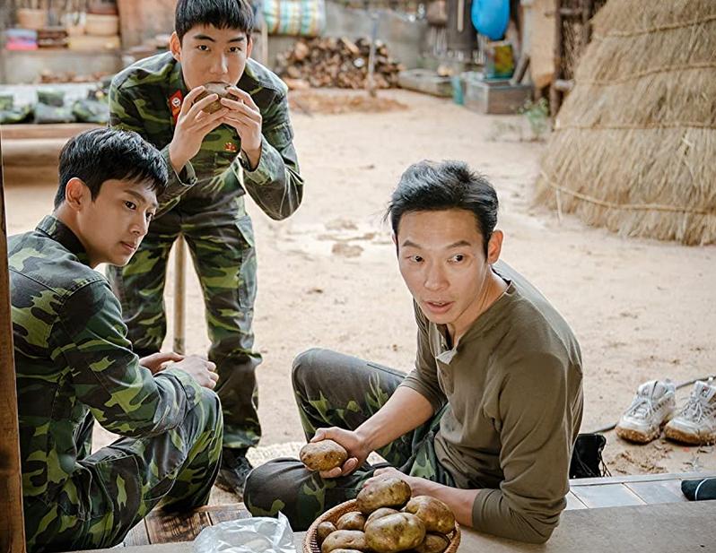 のどかな北朝鮮の風景と登場人物
