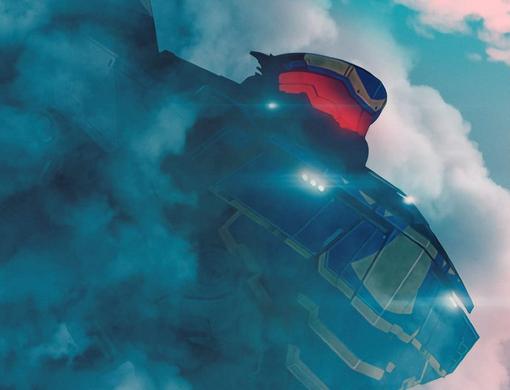 アニメ パシフィック・リム:暗黒の大陸のイェーガー