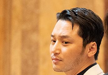 デイヴィッド・キムを演じた俳優ピョン・ヨハン