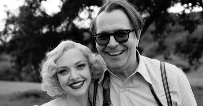 映画マンクのキャスト ゲイリー・オールドマンとアマンダ・サイフレッド