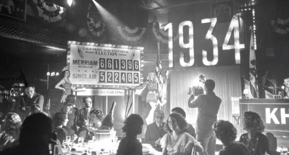 マンクの過去の回想シーン1934年の知事選挙