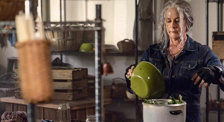 ウォーキング・デッド10第21話 スープを作るキャロル