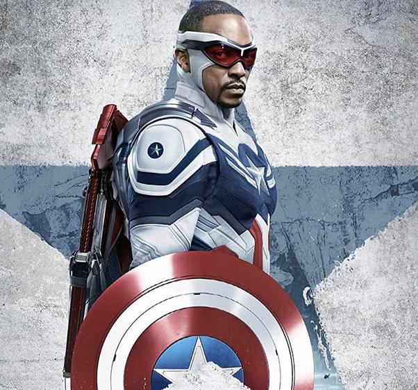 キャプテン・アメリカとなったファルコン