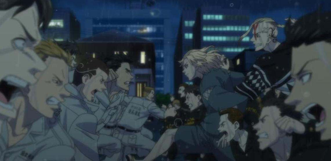 アニメ『東京リベンジャーズ』ヤンキー同士の抗争