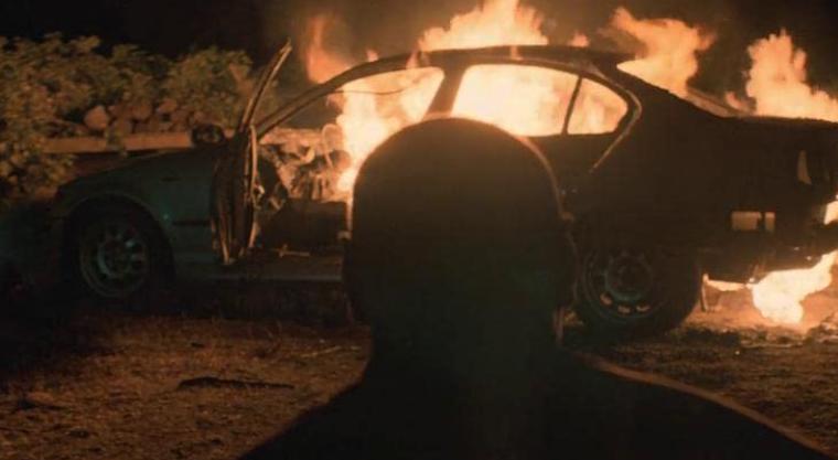 Lupin 6話 車の前で泣き叫ぶアサン