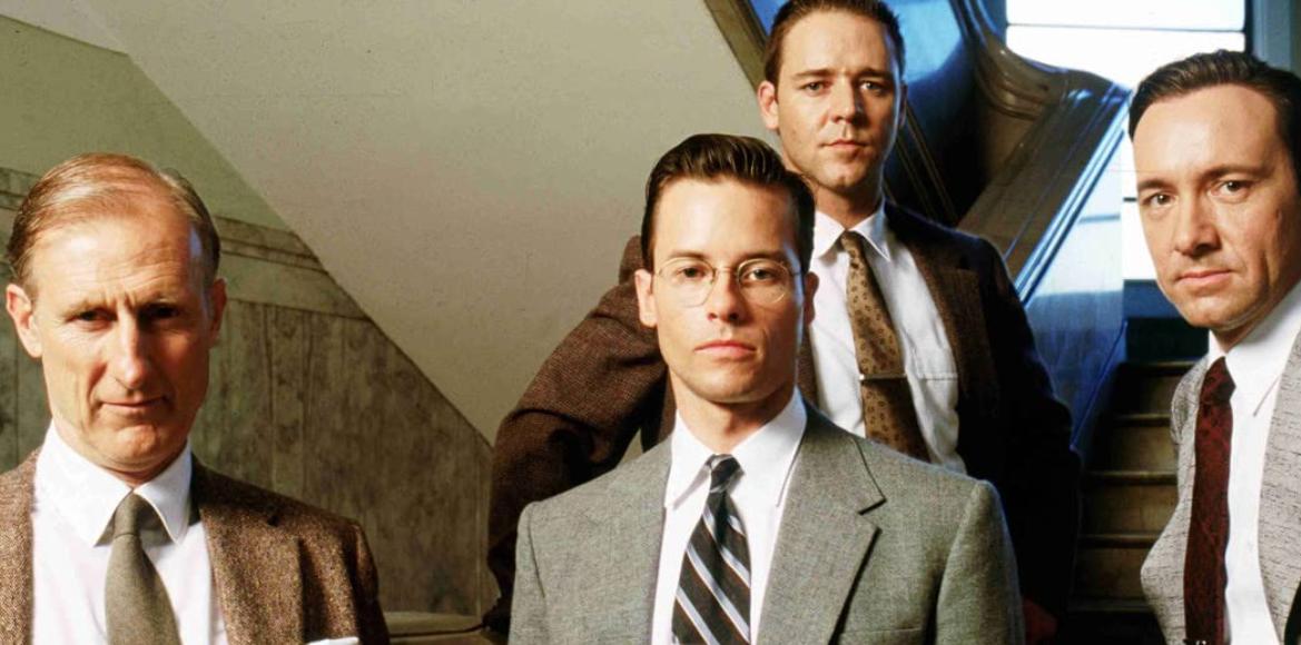 『L.A.コンフィデンシャル』の主要刑事 4人