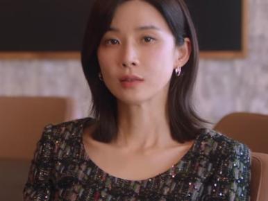 韓国ドラマmine 13話の美しいドレスを着たヒス