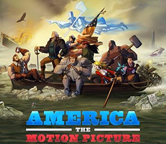 Netflixオリジナルアニメ『アメリカThe Movie』
