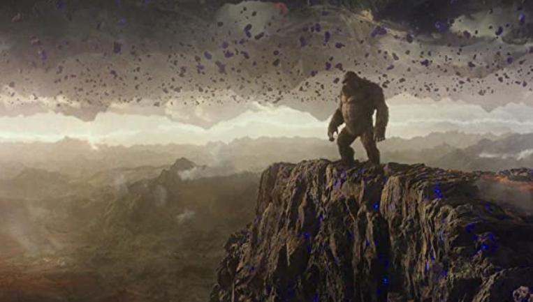 地下空洞の重力反転ポイント 映画ゴジラ対コング
