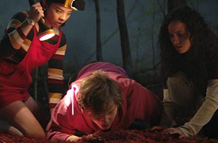 骨を埋めて謝るサイモン、ケイト、ディーナ