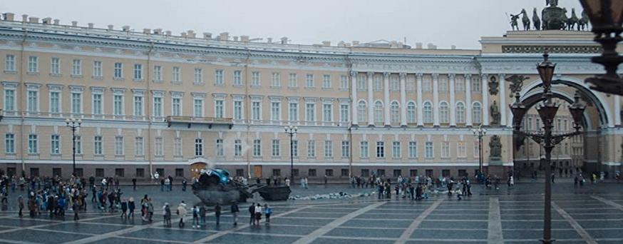 ロシアの美しい街並み・建物『刑事グロムVS粛正の疫病ドクター』