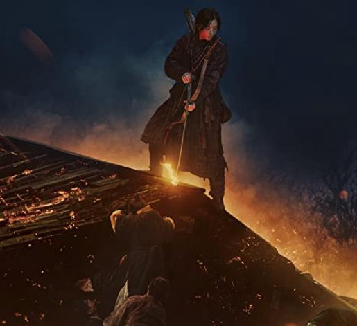 Netflix『キングダム:アシンの物語』ネタバレ 屋根から弓を射るアシン
