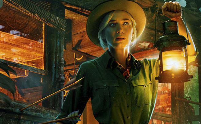 映画『ジャングル・クルーズ』主人公リリーを演じるエミリー・ブラント