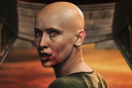 吸血鬼かゾンビかわからないナディア『ブラッド・レッド・スカイ』