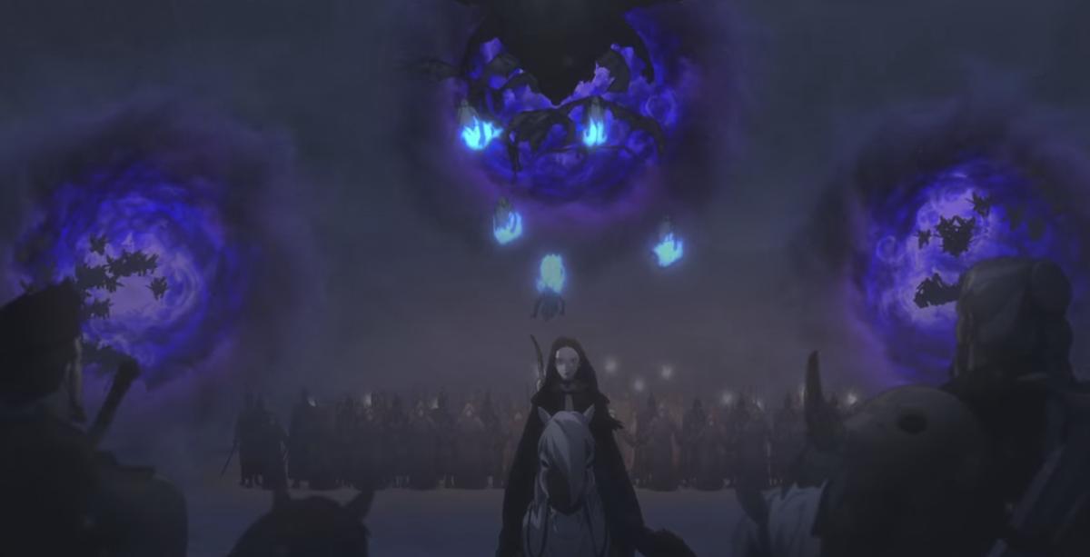攻めてきたテトラの軍勢『ウィッチャー狼の悪夢』ネタバレ