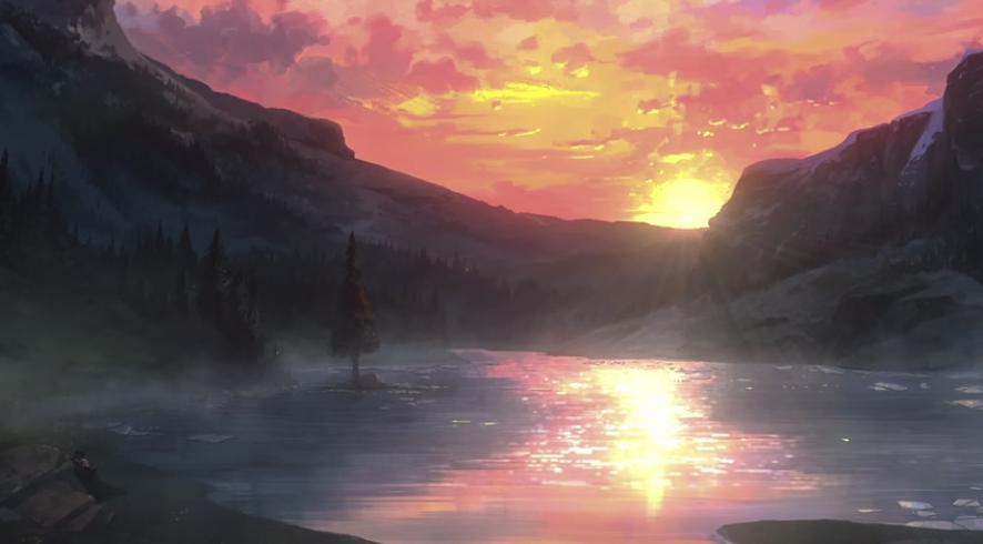 ネトフリ『ウィッチャー狼の悪夢』のラストシーン