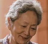 キム・ガムニを演じる女優キム・ヨンオク