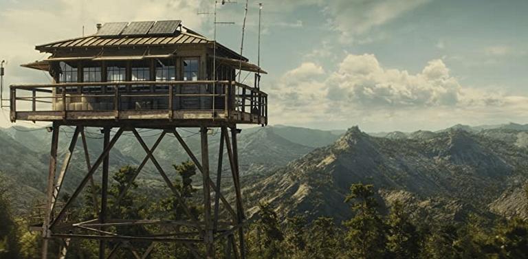 ハンナが勤務する山頂の塔