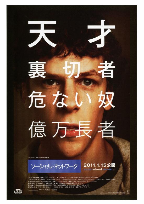 ソーシャル・ネットワーク 映画 アカデミー賞