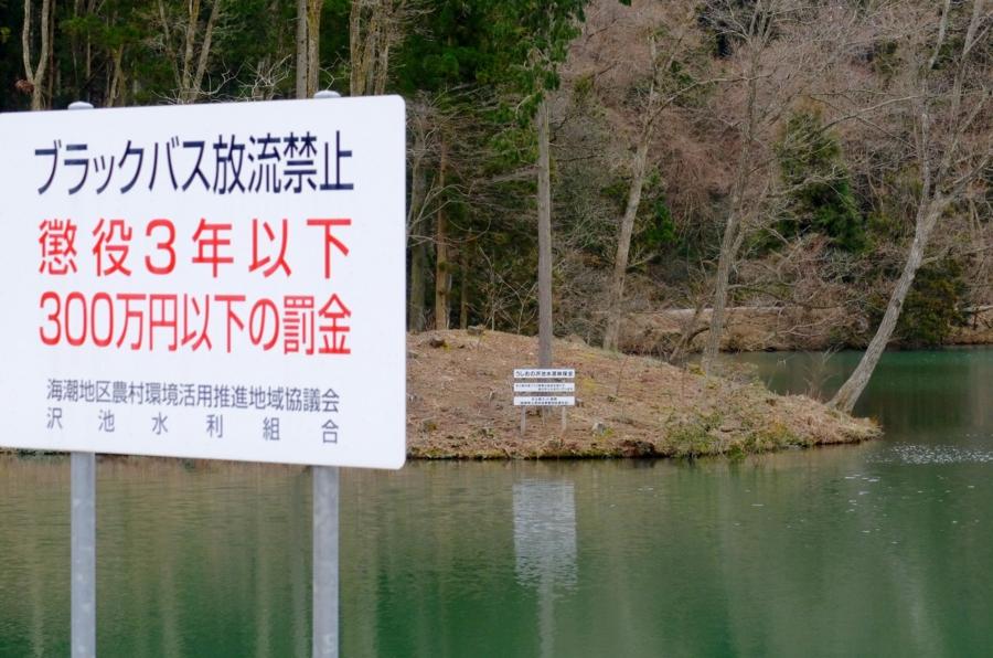 うしおの沢池(島根県雲南) - 水辺遍路
