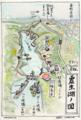 震生湖マップ(水辺遍路謹製)
