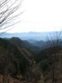 龍勢ヒルクライム ゴールからの景色