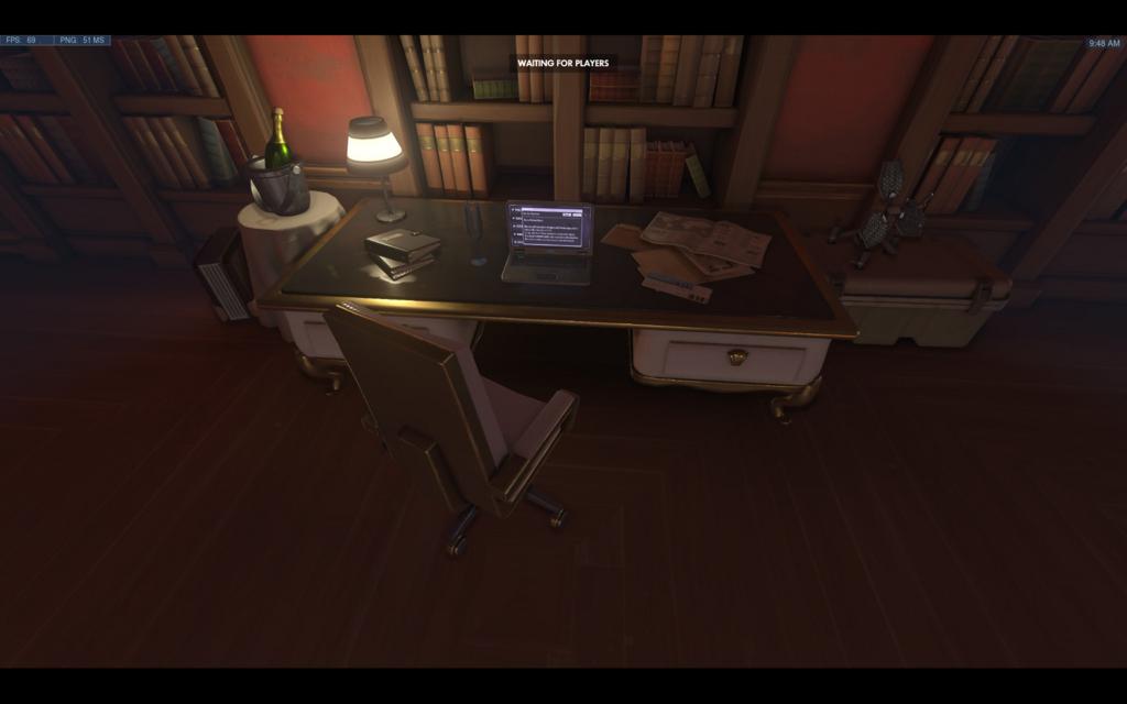 ウィドウメイカーの作業部屋