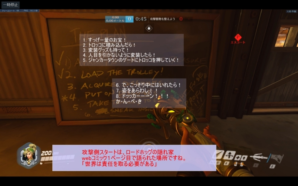 PLANの黒板の翻訳