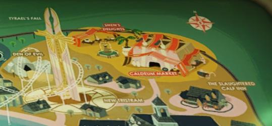 ディアブロのテーママップ