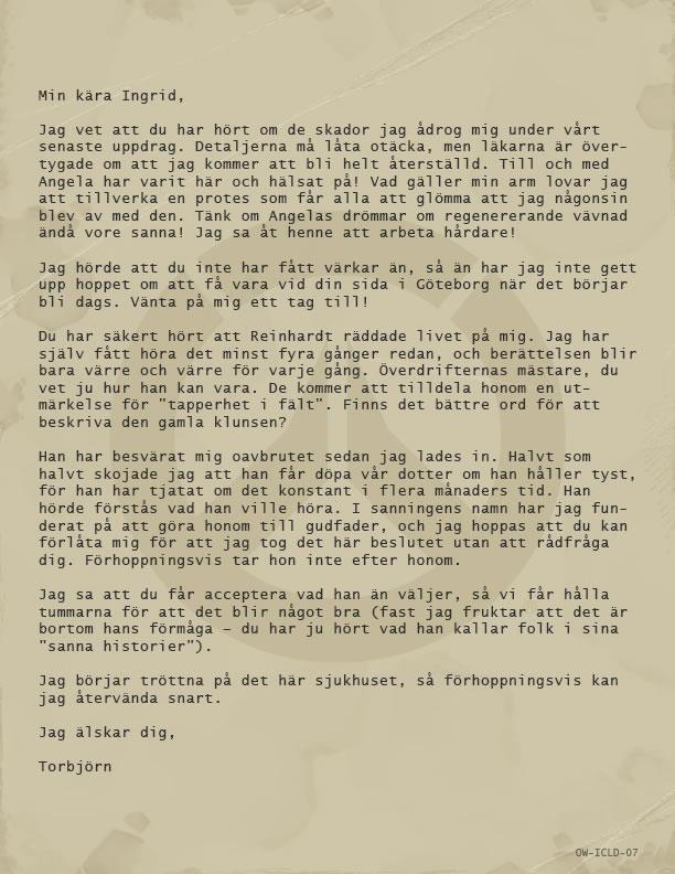 トールビョーンの手紙