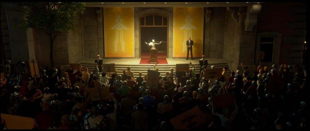 テサルカの演説の観衆