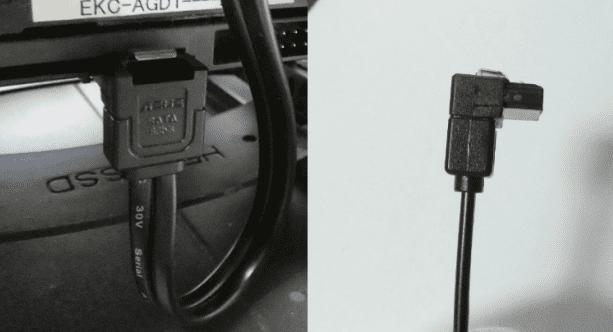SATAケーブルの接続
