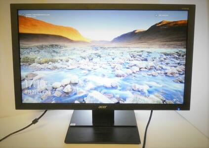 自作PC用 ディスプレイの写真