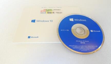 自作PC用 OSパッケージの写真