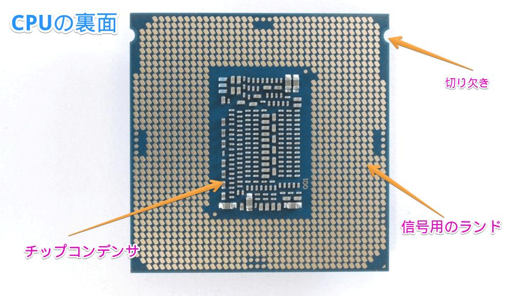 CPUの裏側
